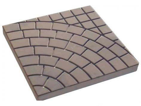 Форма тротуарной  плитки «Колодец городской»