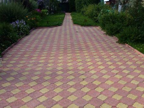 Форма тротуарной плитки «Краковский клевер»
