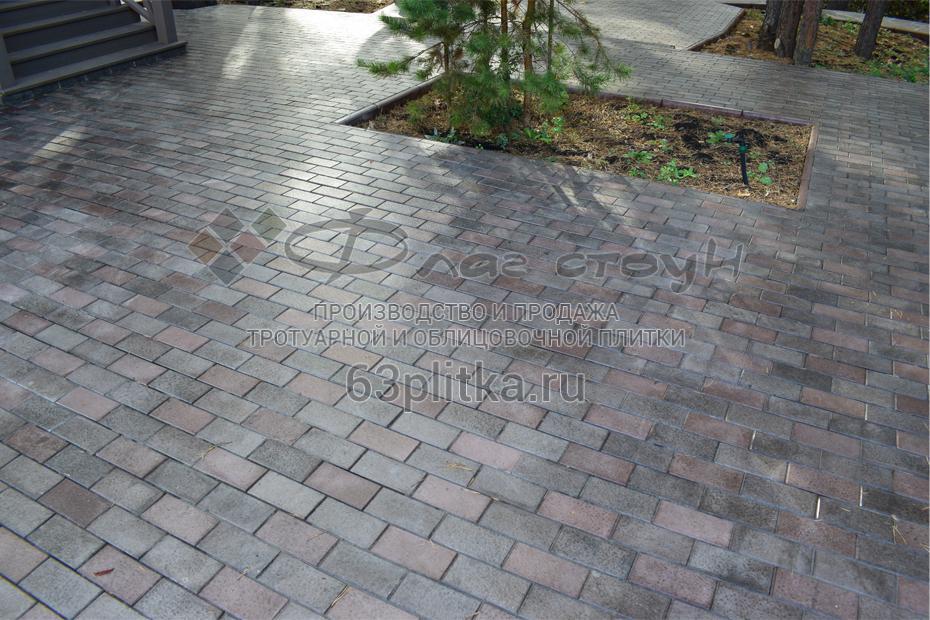 Тротуарная плитка «Кирпич гладкий»