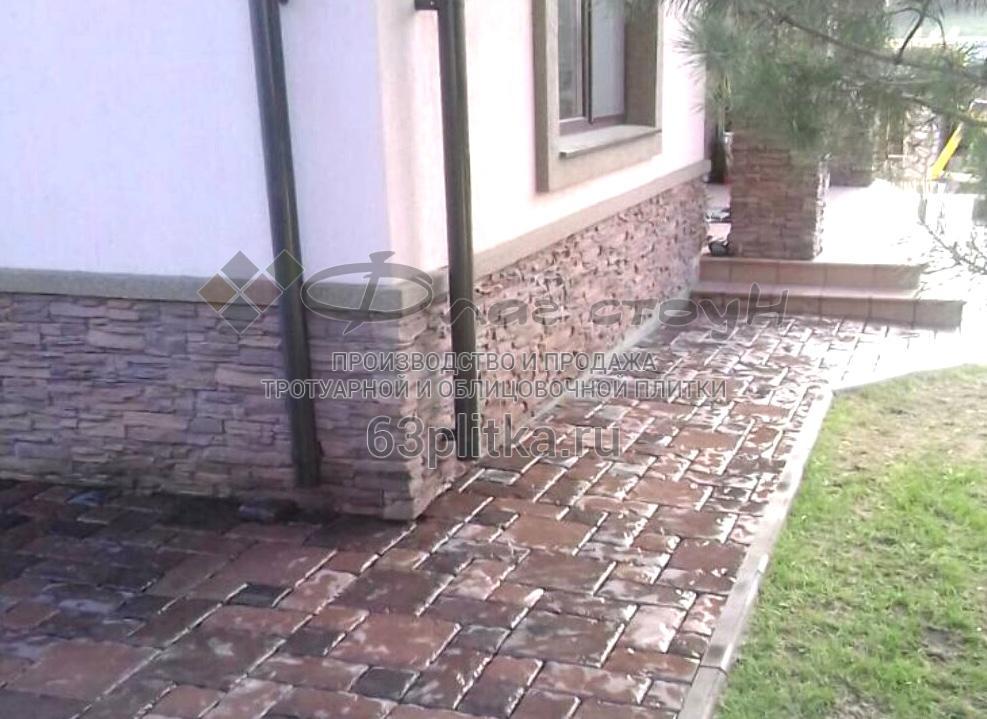 Тротуарная плитка «Старинная мостовая»