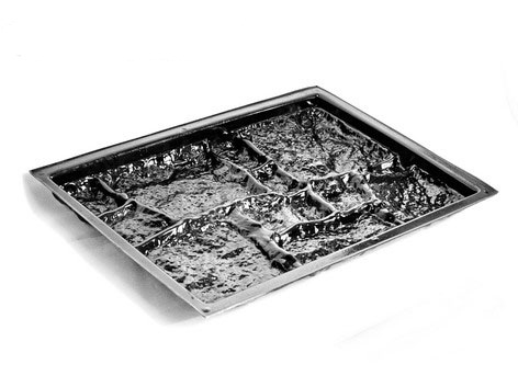 Форма фасадной плитки из АБС пластика « Бутовый камень»