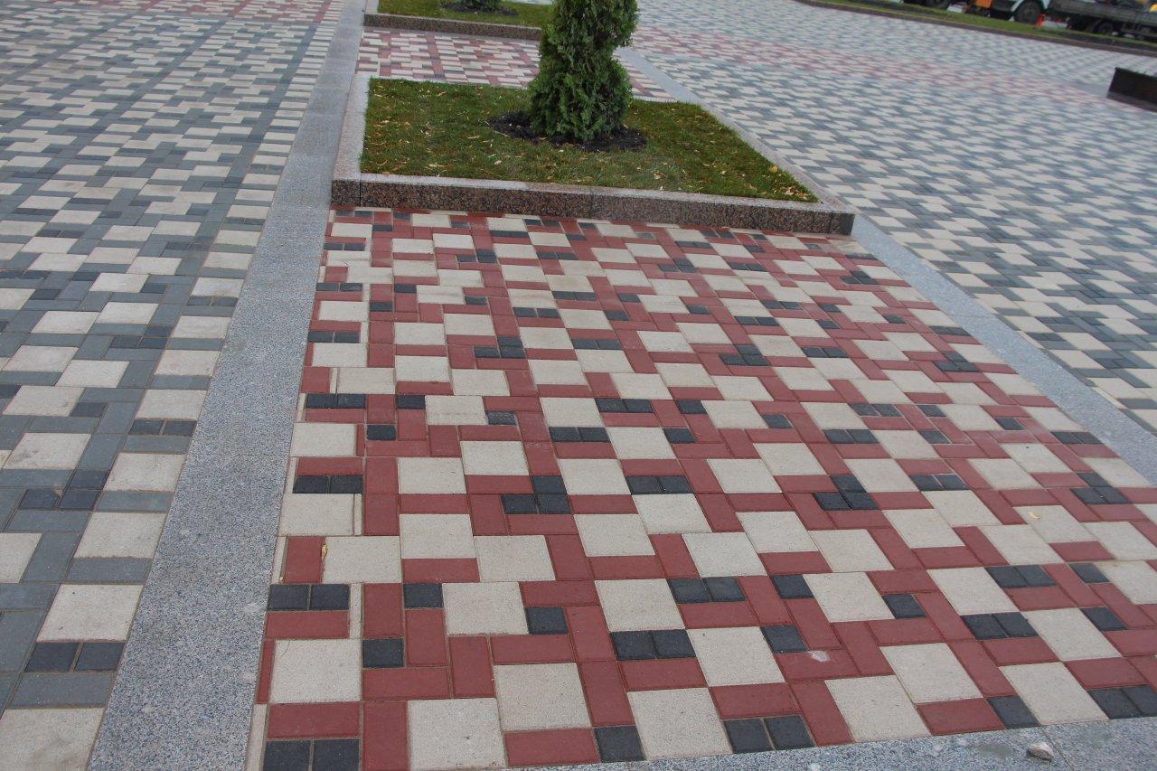 Вибропрессованная тротуарная плитка « Ла-Линия»