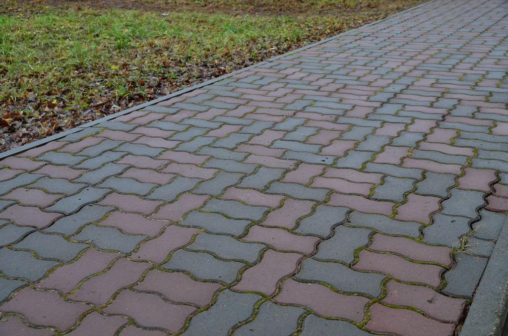 Вибропрессованная тротуарная плитка «Волна»