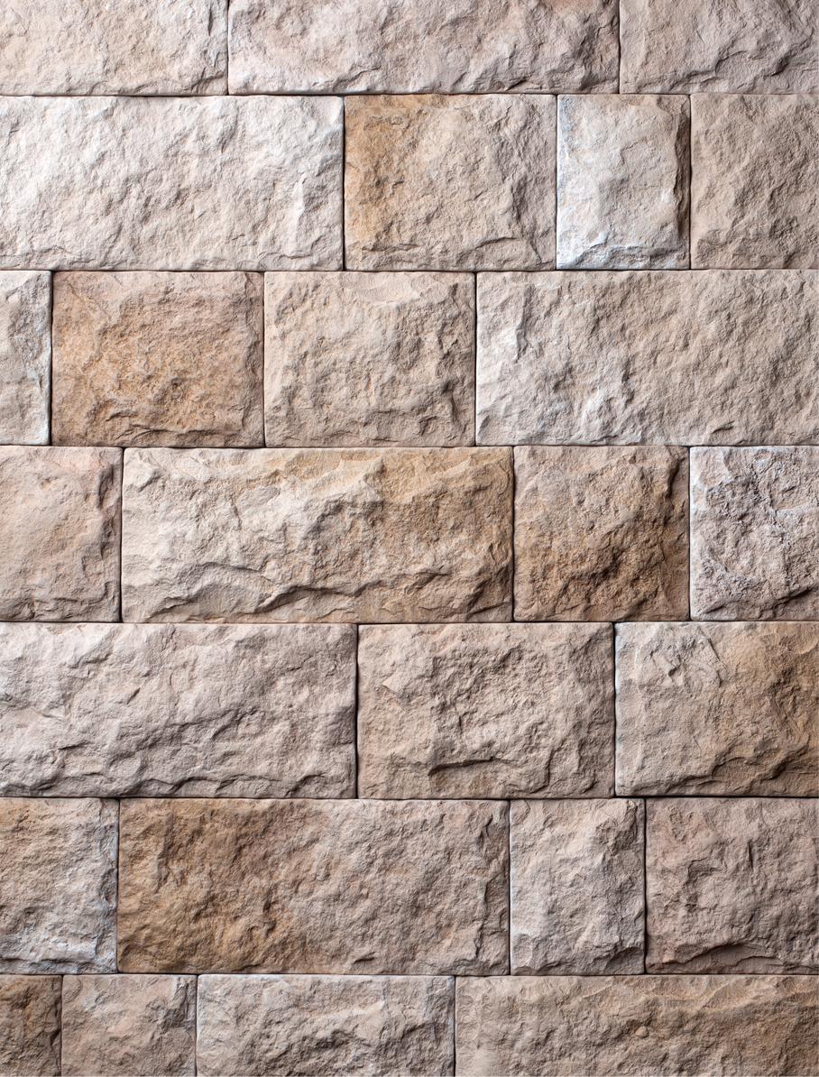 Декоративный камень «Замок Прадо». Артикул 160-050