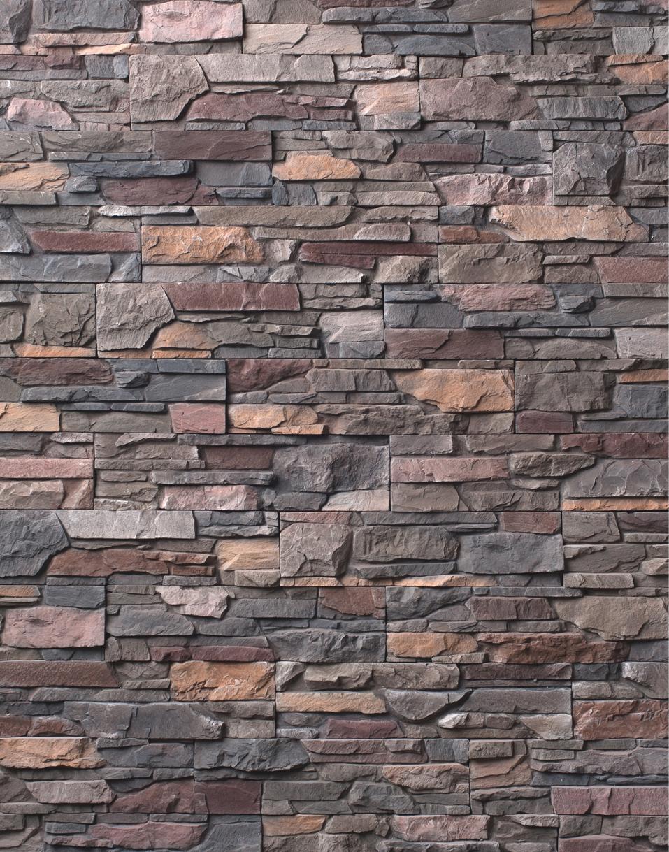 Декоративный камень «Скалистая гора»
