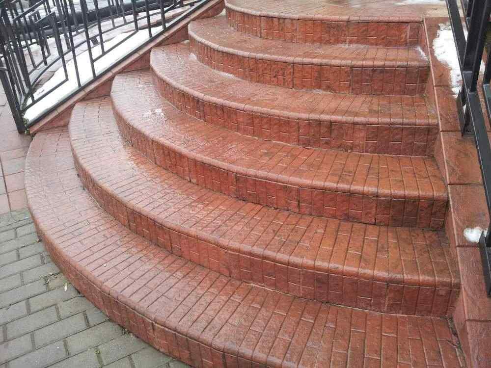 Тротуарная плитка «Ступень»