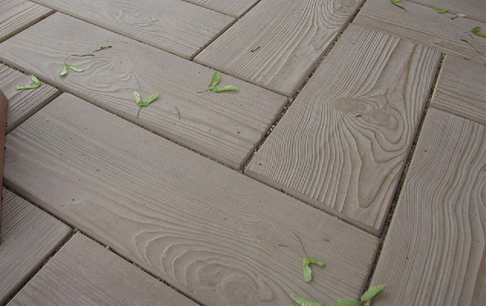 Тротуарная плитка «Паркет»