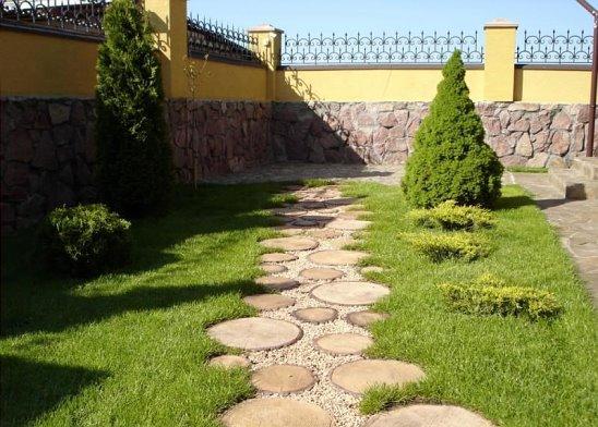 Тротуарная плитка «Пеньки»