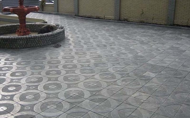 Тротуарная плитка «Круг»