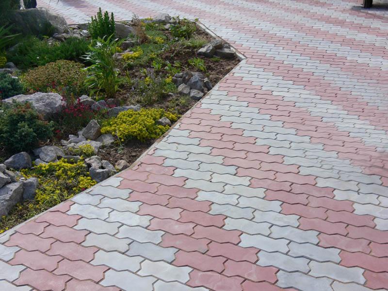 Тротуарная плитка «Волна»