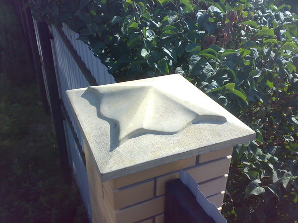 Декоративный элемент «Крышка  столба»