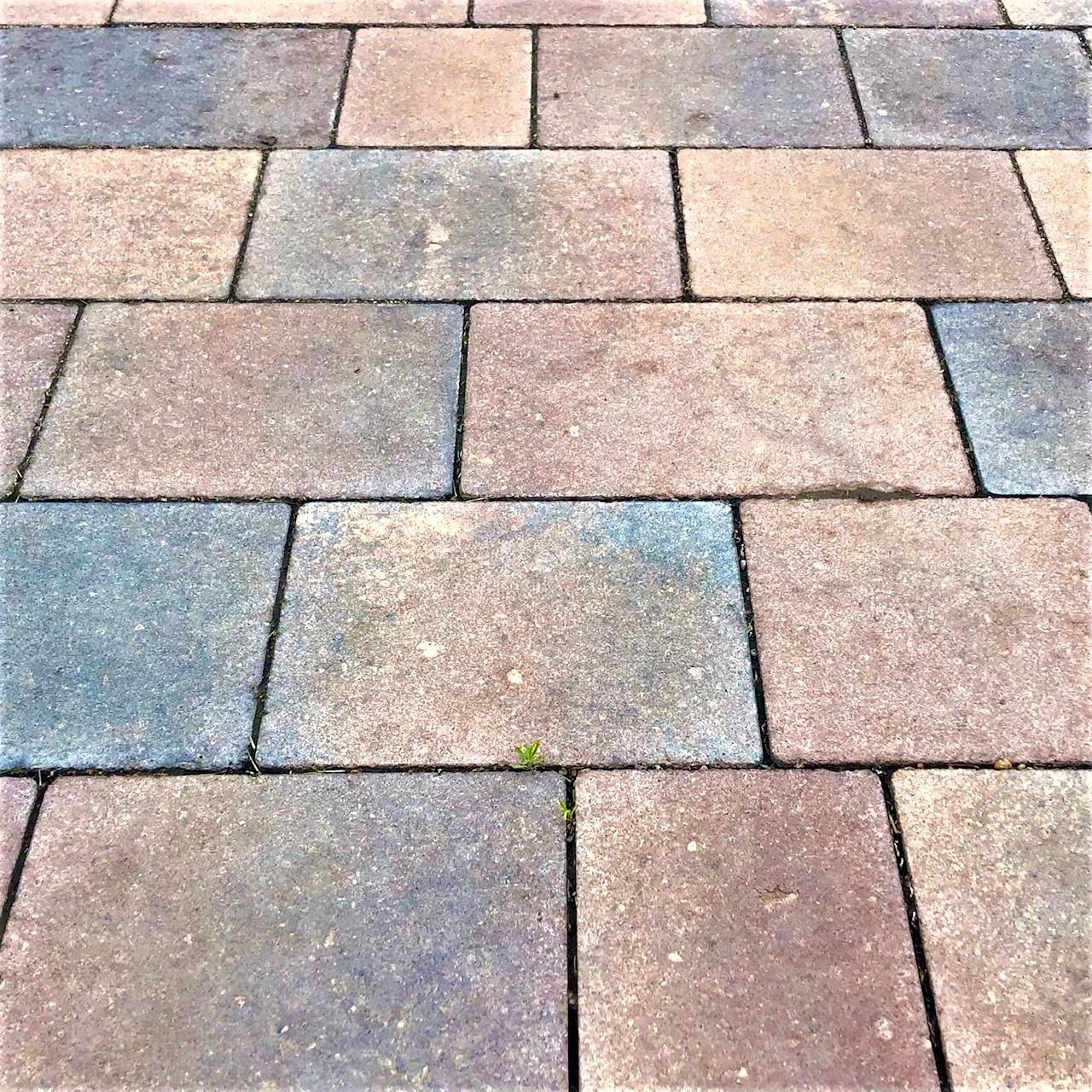 Вибропрессованная тротуарная плитка «Микс»